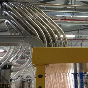 piping for automatic manifold