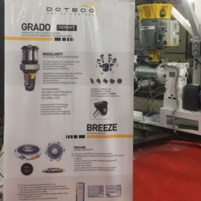 GRAVIMETRIC BATCH BLENDERS AND AUTOMATIC RING ROLLUP - SHUBHAM