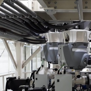 DOTECO - Smart convey pipes on a blown film line